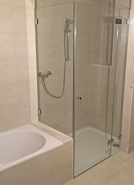 Duschkabinen Duschabtrennung Maßanfertigung Glaserei Wenzel