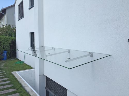 Vordach Terrasse Kosten : Glasdach f u00fcr Terrasse und Vordach Glaserei Wenzel, M u00fcnchen