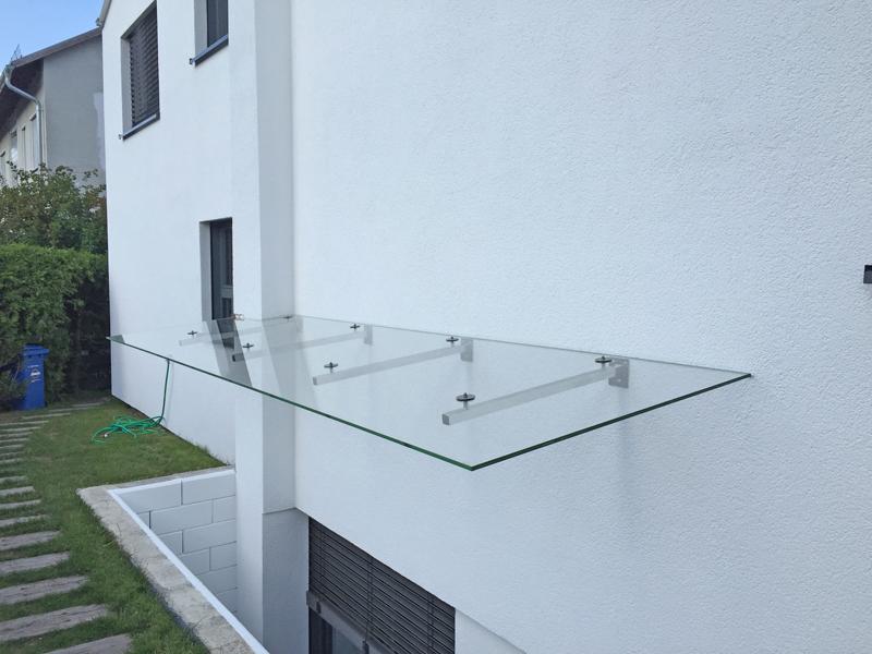 Glasdach Fur Terrasse Und Vordach Glaserei Wenzel Munchen